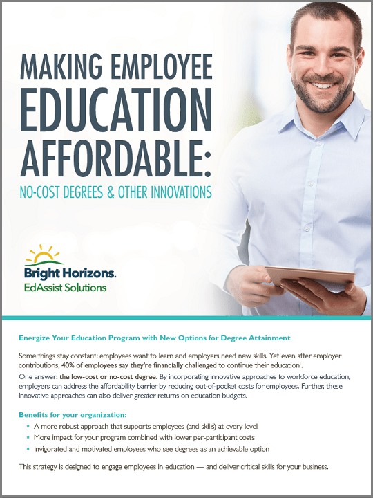 Making Employee Education Affordable