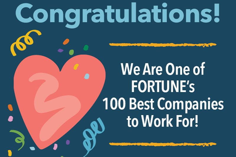 Fortune's 100 Best Companies to Work For logo
