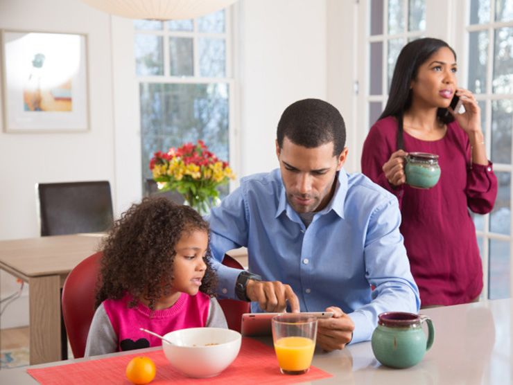 WFH parents trying to manage without child care