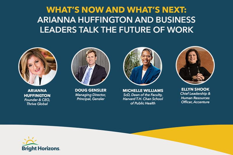 Future of Work panel graphic