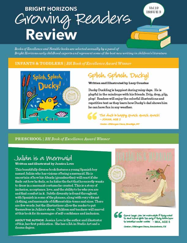Growing Readers Review Issue 19 cover