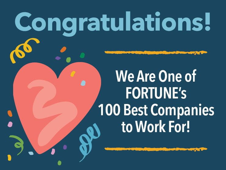 FORTUNE 2020 100 Best Companies to Work For