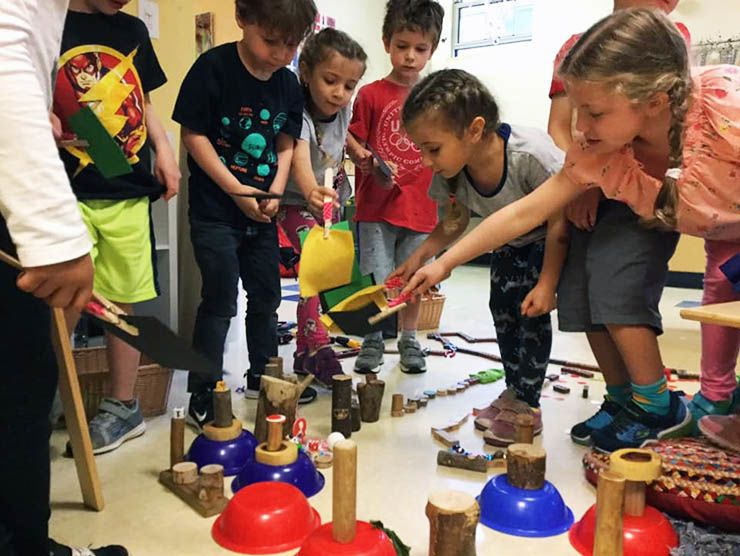 Museum of Science Wee Engineer Program at Bright Horizons