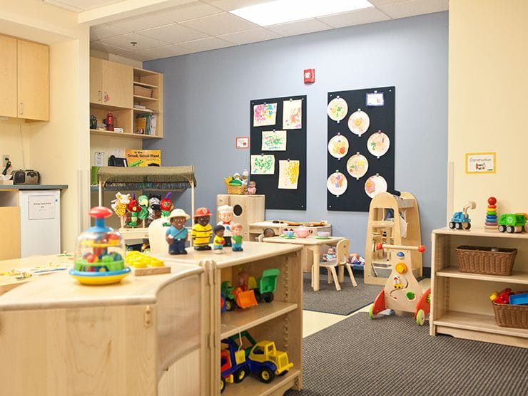 Child care center classroom
