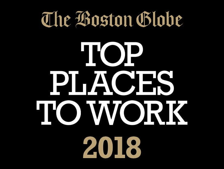 Boston Globe Top Places to Work 2018