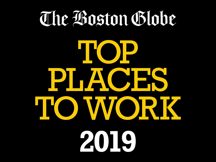 Boston Globe Top Places to Work 2019 Logo