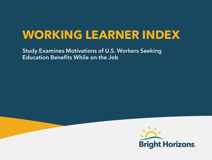 Working Learner Index 2019 Report Cover