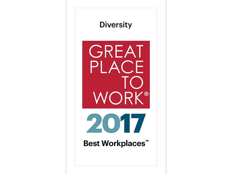 Fortune Great Place to Work for Diversity 2017
