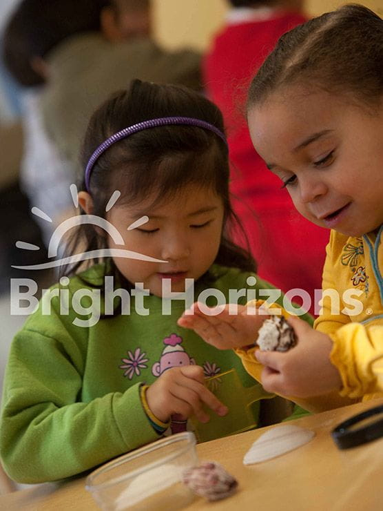 Preschool girls in Bright Horizons classroom