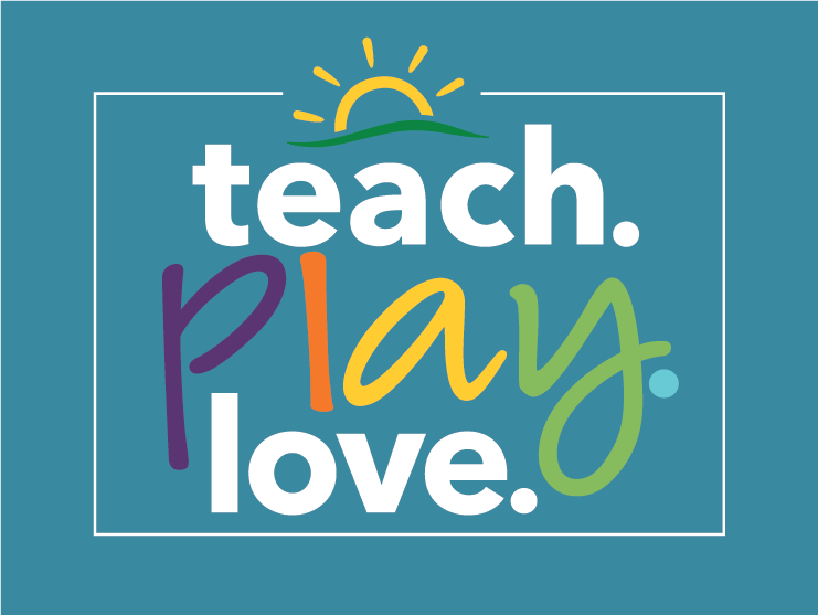 teach play love logo