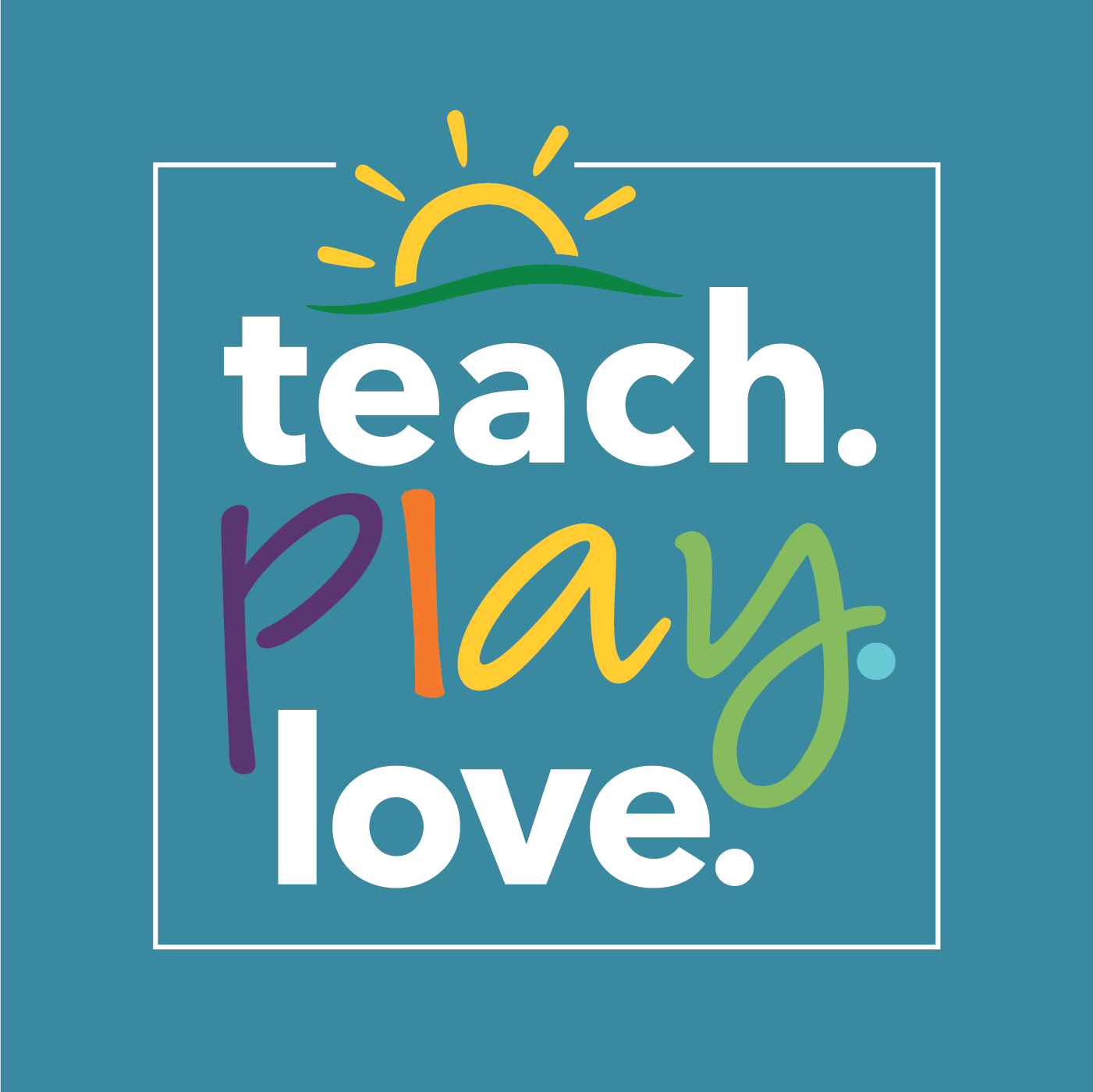 Teach Play Love Podcast logo