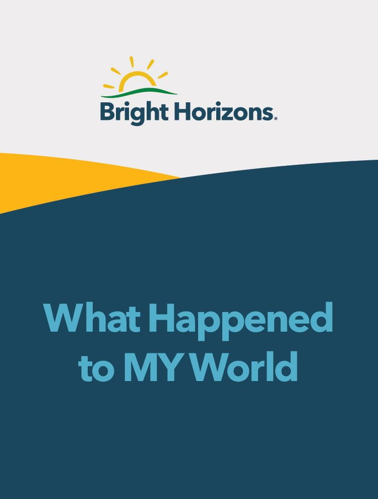 What Happened to MY World cover image