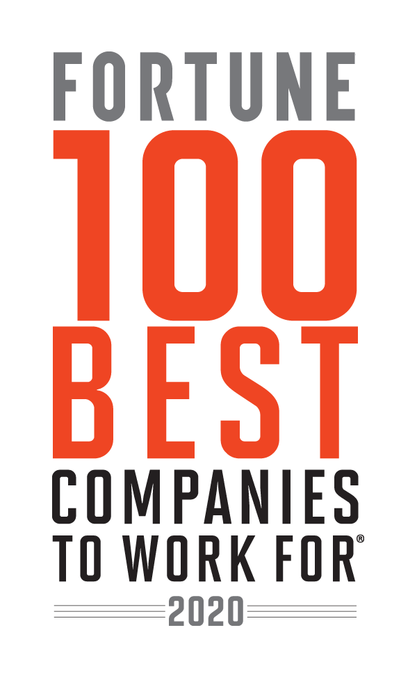 Fortune 100 best companies