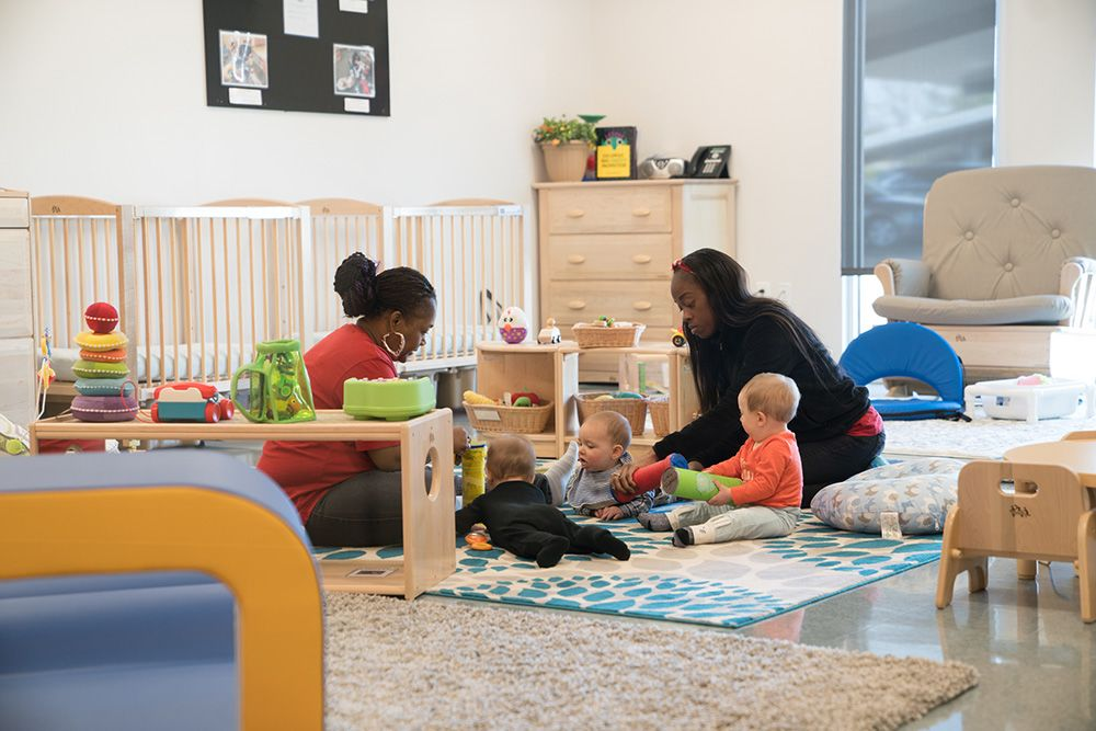 campbell's soup on-site child care center