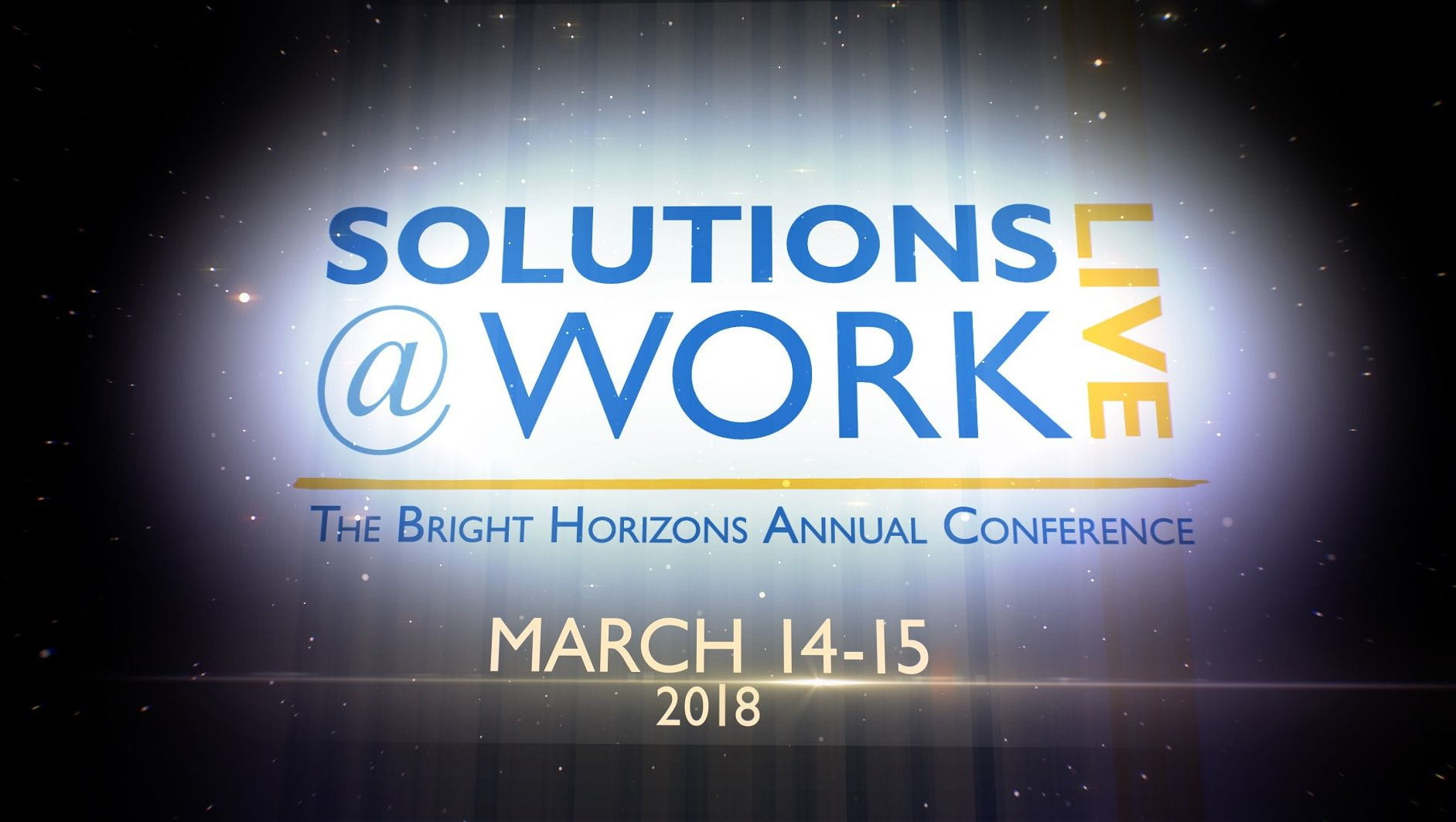 solutions at work live 2018