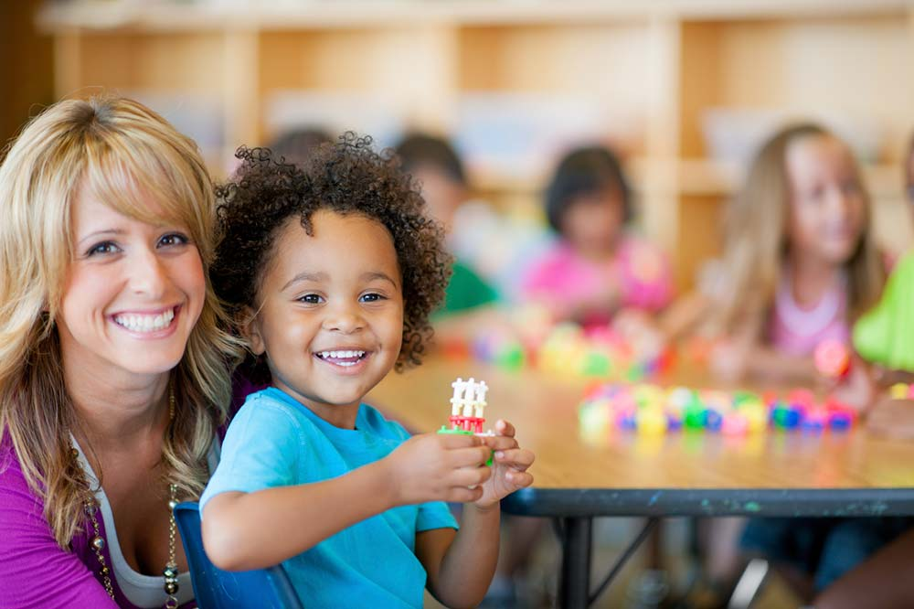 child care in higher ed