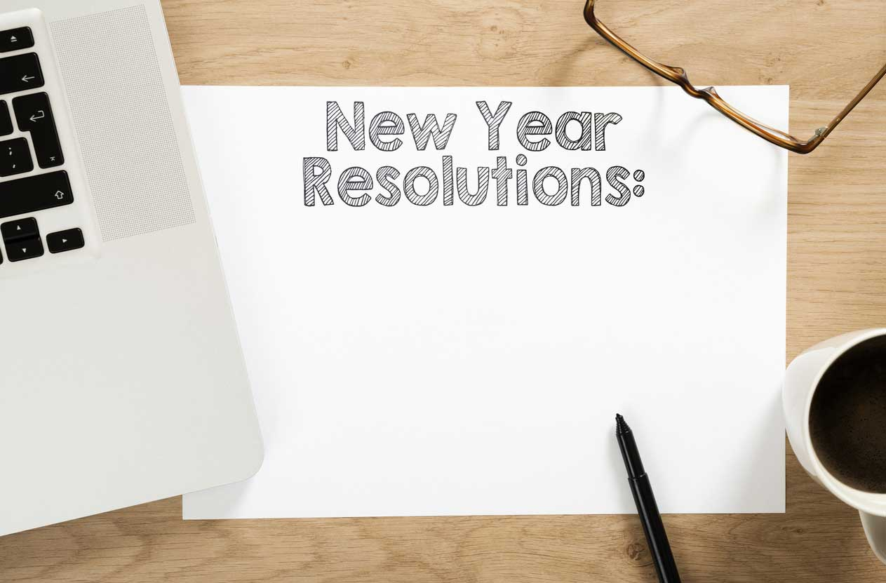 10 New Year's resolutions