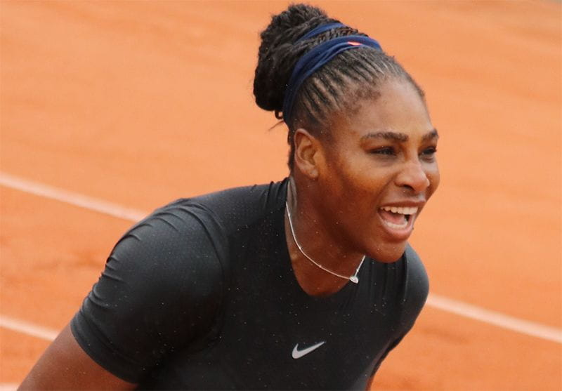 Serena Williams working mother