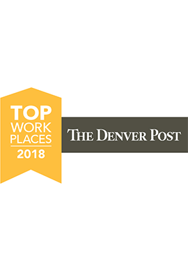 The Denver Post Top Places to Work 2018 logo