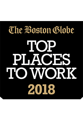 Boston Globe Top Places to Work 2018 logo