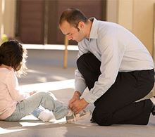 Easing separation anxiety in children