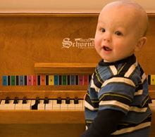 The benefits of music and music games for child development