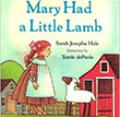 Mary Had a Little Lamb Children's Book