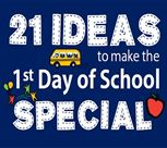 ideas to make first day school special