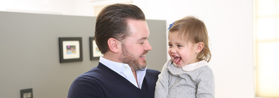 Dad Talking To Daughter