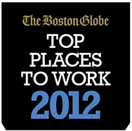 Boston Globe Best Places to Work 2012
